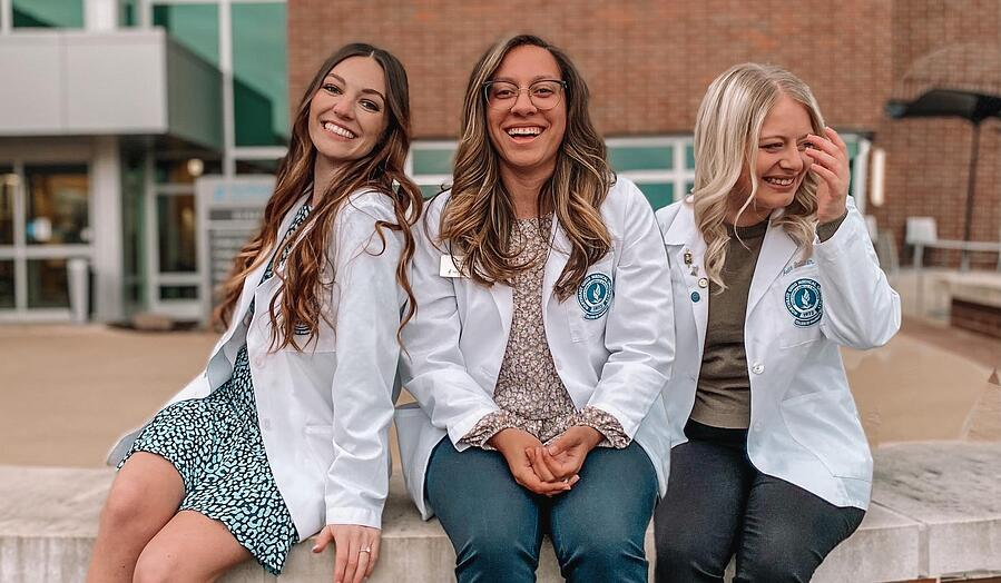 Faith and Friends in White Coats